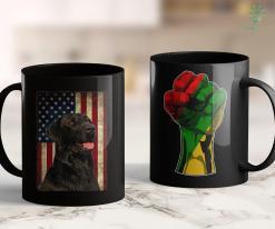 Black Lives Movement Black Labrador Gift Usa Flag Lab Owner Duck Hunter 11Oz 15Oz Black Mug %tag familyloves.com