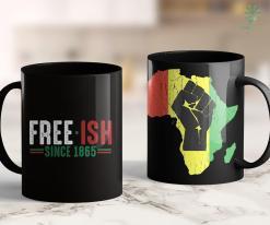 Black Lives Movement Free-Ish Since 1865 Emancipation Day Black Pride 11Oz 15Oz Black Mug %tag familyloves.com