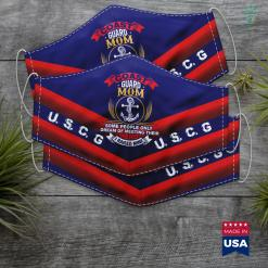 Coast Guard Reports Pround Coast Guard Mom I Raised Their Heroes Face Mask Gift %tag familyloves.com