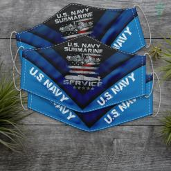 Dad Us Navy Us Navy Submarine Service American Veteran Flag Face Mask Gift %tag familyloves.com