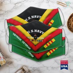 De Wall U.S. Navy Vietnam Veteran Face Mask Gift %tag familyloves.com