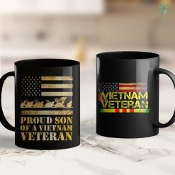De Wall Proud Son Of A Vietnam Veteran 11Oz 15Oz Black Coffee Mug %tag familyloves.com