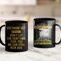Disabled Veterans Charities Vietnam Veteran Dont Let Gray Hair Fool You Men Gift 11Oz 15Oz Black Coffee Mug %tag familyloves.com