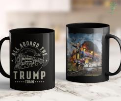 Donald Trump Apparel 2020 Presidential Election Pro Donald Trump All Aboard Train 11oz Coffee Mug %tag familyloves.com