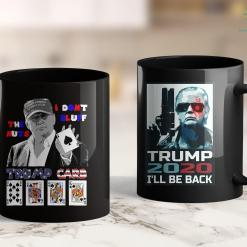 Donald Trump Tank Top Funny Trump Poker I Dont Bluff The Nuts Ace President 11oz Coffee Mug %tag familyloves.com