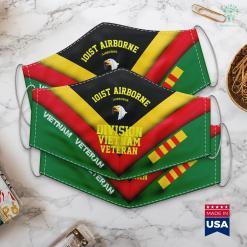 Donate To Veterans 101St Airborne Division Vietnam Veteran Face Mask Gift %tag familyloves.com