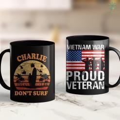 Donation Pick Up Veterans Charlie Dont Surf Military Vietnam War 11Oz 15Oz Black Coffee Mug %tag familyloves.com