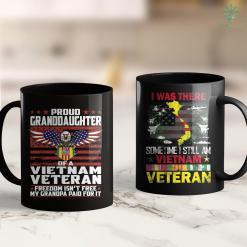 Famous Vietnam Photos Freedom Isnt Free Proud Granddaughter Of A Vietnam Veteran 11Oz 15Oz Black Coffee Mug %tag familyloves.com