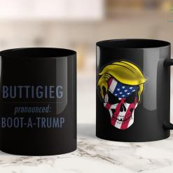 I Love Trump Shirt Pete Buttigieg 2020 Pronounced Pete Boot A Trump 11oz Coffee Mug %tag familyloves.com