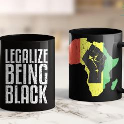 Inception Memes &Quot;Melanated Educated Bougie&Quot; Melanin Poppin Black Girl Shirt 11Oz 15Oz Black Mug %tag familyloves.com