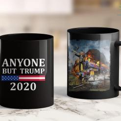 Kid Rock Trump Shirt Anyone But Trump 2020 Presidential Campaign Style 11oz Coffee Mug %tag familyloves.com