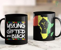 Leader Of Black Lives Matter Gifted Young Black Beautiful African Pride History Shirt 11Oz 15Oz Black Mug %tag familyloves.com