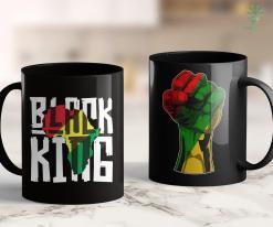Live Matter Black King For Boys Men History Month Africa Tribal 11Oz 15Oz Black Mug %tag familyloves.com