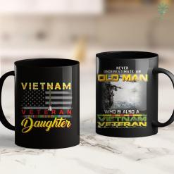 Memorial Wall Vietnam Veteran Daughter Gift For The Daughter Of The Vet 11Oz 15Oz Black Coffee Mug %tag familyloves.com
