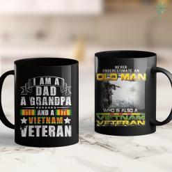 Names Vietnam Memorial Vietnam Veteran Military Sodier Veterans Day American Flag 11Oz 15Oz Black Coffee Mug %tag familyloves.com