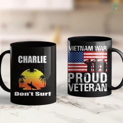Ptsd In Vietnam Veterans Charlie Dont Surf Military Vietnam Veteran Surfer 11Oz 15Oz Black Coffee Mug %tag familyloves.com