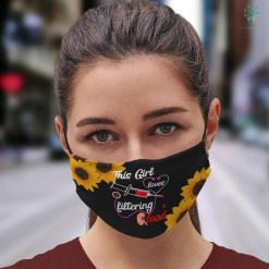 Student Nurse Gifts Womens This Girl Loves Filtering Blood Dialysis Nurse Nursing Face Mask Gift %tag familyloves.com