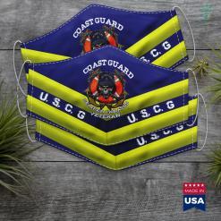 Texas National Guard U.S. Coast Guard Veteran Uscg Semper Paratus Gift Tee Face Mask Gift %tag familyloves.com