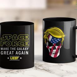 Toddler Trump Shirt Space Force Trump Make The Galaxy Great Again Ussf Nerd Geek 11oz Coffee Mug %tag familyloves.com
