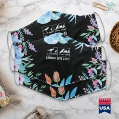 Top Gifts For Grandma Lets Eat Grandma Lets Eat Grandma Commas Save Lives Face Mask Gift %tag familyloves.com