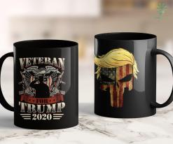 Trump 2020 Campaign Ad Veterans For Trump 2020 Gifts Military Republican Supporters 11oz Coffee Mug %tag familyloves.com
