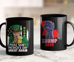 Trump 2020 Dog Collar Make Saint Patricks Day Great Again Leprechaun Trump Beer 11oz Coffee Mug %tag familyloves.com
