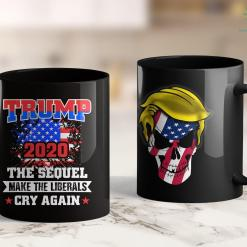 Trump 2020 Hat Camo President Trump 2020 The Sequel Make Liberals Cry Again 11oz Coffee Mug %tag familyloves.com