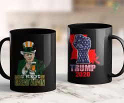 Trump 2020 Keep America Great Make St Patricks Day Great Again Trump Lover Gift Men Women 11oz Coffee Mug %tag familyloves.com