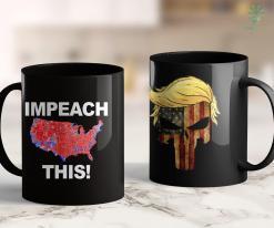 Trump 2020 Sticker Trump Impeachment Joke Impeach This Silly Democrat Heat Map 11oz Coffee Mug %tag familyloves.com