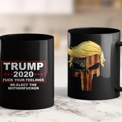 Trump 2020 Tattoo Trump 2020 Fuck Your Feelings Trump Voter Tee Proud Voter 11oz Coffee Mug %tag familyloves.com