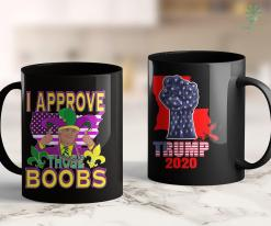Trump 2020 Victory Mens Funny Trump Mardi Gras Boobs Costume Gift 11oz Coffee Mug %tag familyloves.com