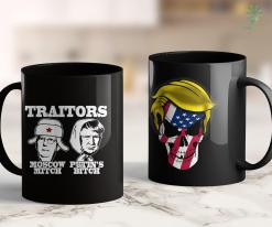 Trump 2020 Vinyl Decal Traitors Moscow Mitch Putins Bitch Ditch Russia Trump Meme 11oz Coffee Mug %tag familyloves.com
