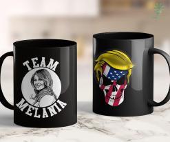 Trump Pence T Shirt Make St Patricks Day Great Again Trump Usa Flag Shamrock 11oz Coffee Mug %tag familyloves.com