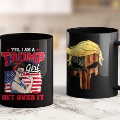 Trump Campaign Merchandise Trump Merica Belgian Malinois Dog American Hero 4Th Of July 11oz Coffee Mug %tag familyloves.com