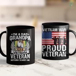 United War Veterans Pickup A Dad Grandpa And A Vietnam Veteran Grandfather Gift 11Oz 15Oz Black Coffee Mug %tag familyloves.com