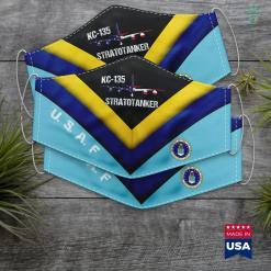 Us Air Force Website Kc135 Stratotanker Air Force Pilot American Flag Aviation Face Mask Gift %tag familyloves.com