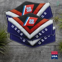Us Coast Guard Mission Coast Guard Face Mask Gift %tag familyloves.com