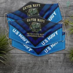 Us Navy San Diego Gator Navy Us Navy Amphibious Forces Proud Gato Navy Face Mask Gift %tag familyloves.com