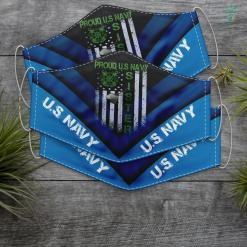 Us Navy Sister Vintage Flag Proud Us Navy Sister Dog Tags Military Gift Face Mask Gift %tag familyloves.com