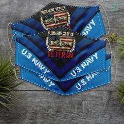 Us Navy Socks Vintage Us Navy Submarine Service Veteran T Face Mask Gift %tag familyloves.com