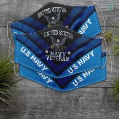 Us Navy Throw Vintage Us Navy Veteran Usn Face Mask Gift %tag familyloves.com