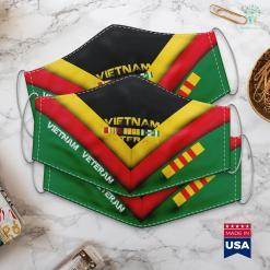 Usa Wall Vietnam Veteran Gift For Dad And Grandpa Vietnam Veterans Face Mask Gift %tag familyloves.com