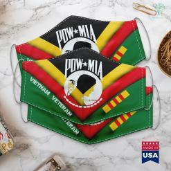 Vehicles For Veterans Review Pow Mia Vietnam Vet Face Mask Gift %tag familyloves.com
