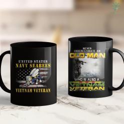 Veteran Pick Up U.S. Navy Seebees Vietnam Veteran Gifts 11Oz 15Oz Black Coffee Mug %tag familyloves.com