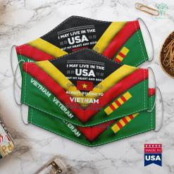 Veterans Association Donations Xmas Vietnam Flag Quote Roots Ugly Sweater Gift Face Mask Gift %tag familyloves.com
