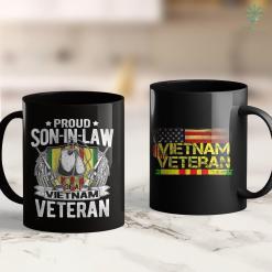Veterans Donations Pick Up Proud Son-In-Law Of A Vietnam Veteran Military Family Gift 11Oz 15Oz Black Coffee Mug %tag familyloves.com