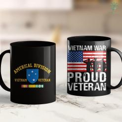 Veterans Memorial Americal Division Vietnam Veteran 23Rd Infantry Div 11Oz 15Oz Black Coffee Mug %tag familyloves.com