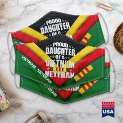 Vietnam Memorial Washington Dc Proud Daughter Of Vietnam Veteran Women Birthday Gift Face Mask Gift %tag familyloves.com
