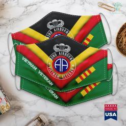 Vietnam Vets Donation Pick Up 82Nd Airborne Design 82Nd Airborne Vietnam Veteran Face Mask Gift %tag familyloves.com