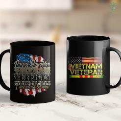 Vietnam Veteran Hat Proud Daughter Vietnam Veteran Raised By My Hero 11Oz 15Oz Black Coffee Mug %tag familyloves.com